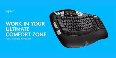 Deal Logitech Wireless Wave Keyboard Featured