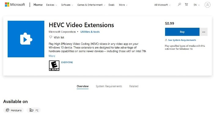 Hevc Extension Official