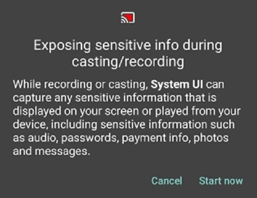 How To Enable The Hidden Screen Recorder In Android 10 Warning