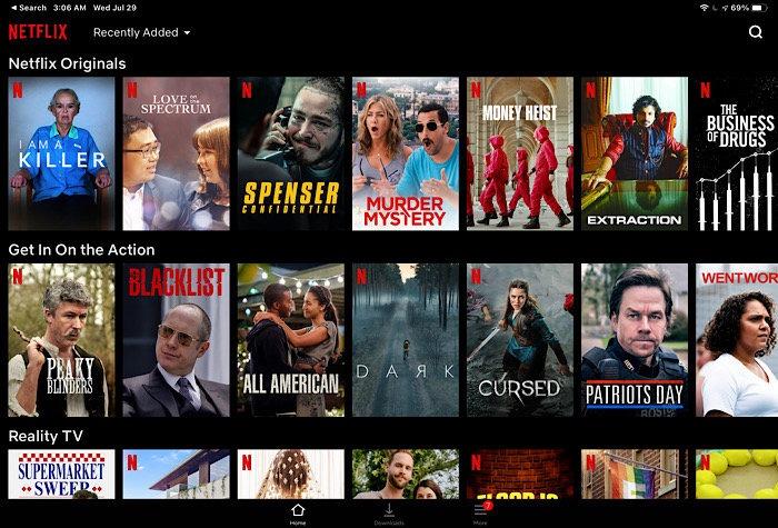 محتوى خداع Netflix الخاص بالأخبار