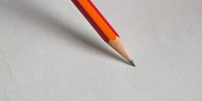 News Paper Pencil Wearable Featured