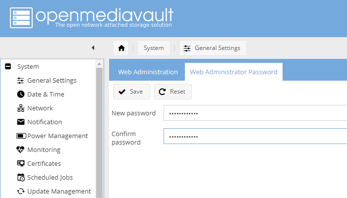 Openmediavault5 गाइड E03