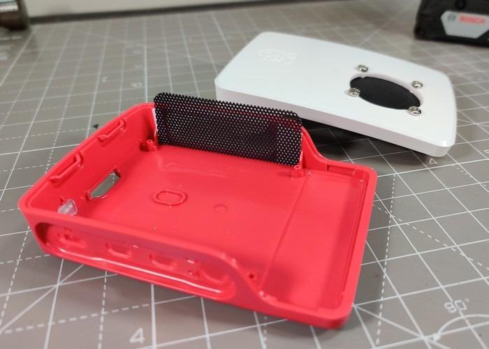 Raspberry Pi 4 Case Mod 09