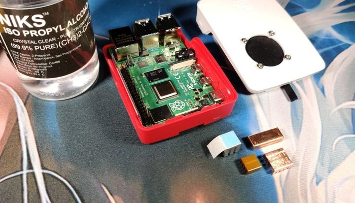 Raspberry Pi 4 Case Mod 10c