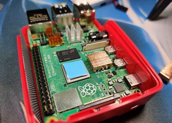 Raspberry Pi 4 Case Mod 11a