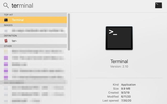 ست طرق Macbook Serial Number Terminal Finder