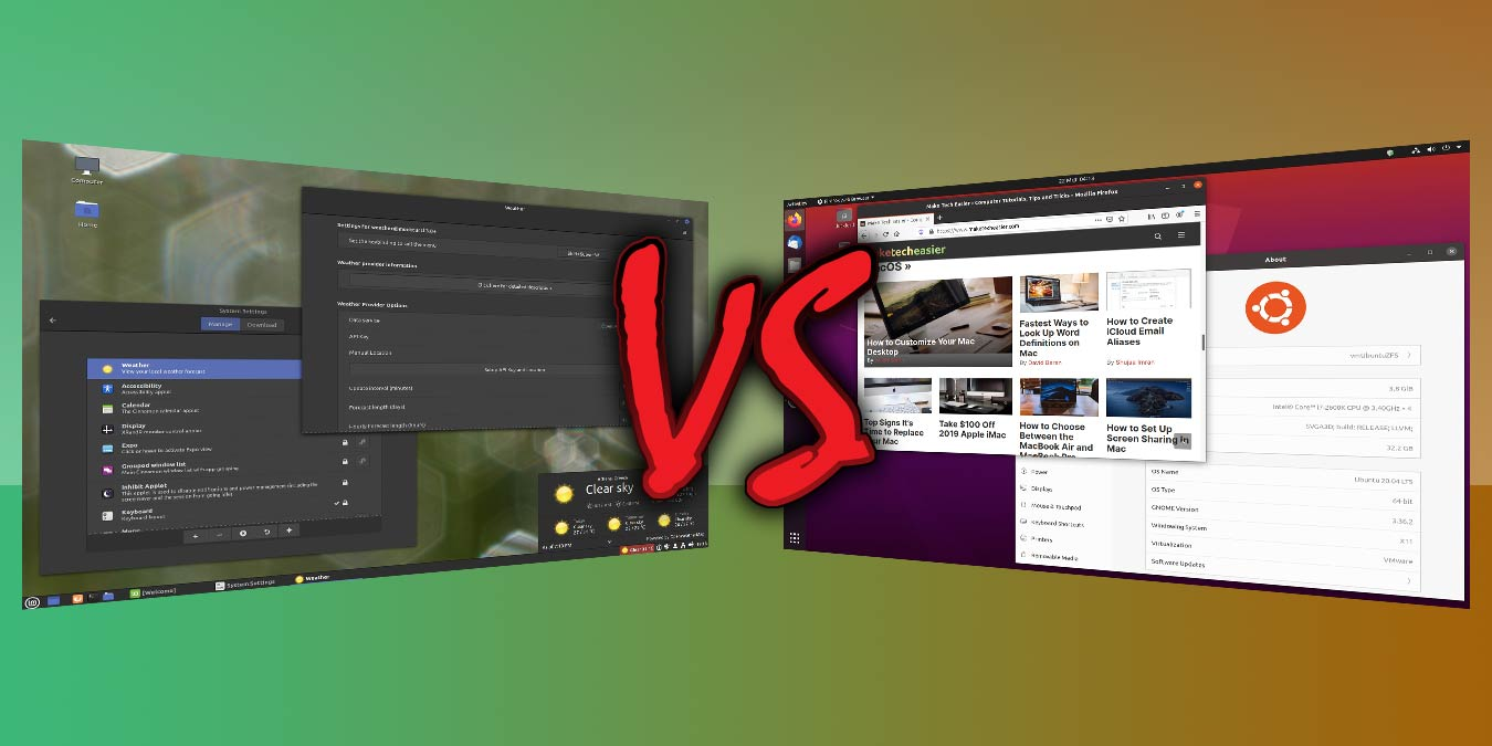 Ubuntu Vs Linux Mint Which One Should You Use Make Tech Easier