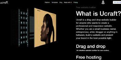 Ucraft Free Website Builder Review Create Websites