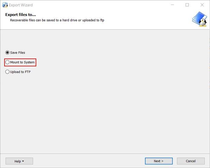 Access Ext4 Windows Linuxreader Mount Folder