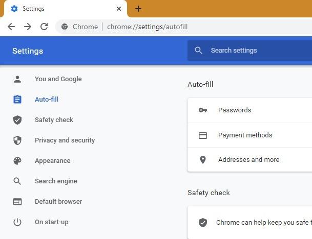Passwords Browser Dots Chrome Autofill