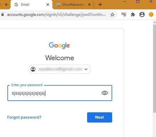 Kata Sandi Peramban Dots Kata Sandi Chrome Enter