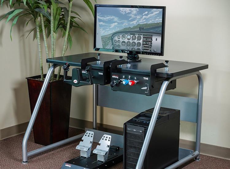 قم بإعداد أجهزة Flight Simulator