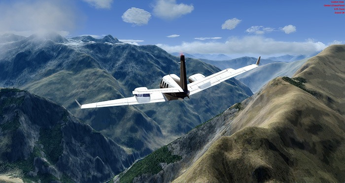 قم بإعداد Flight Simulator Real Air
