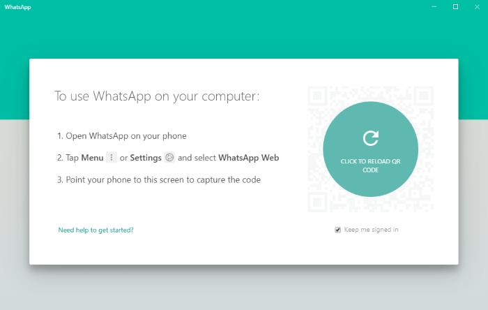 تعليمات ويب Whatsapp