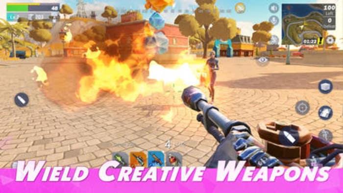 أفضل بدائل Fornite Ios Creative Destruction