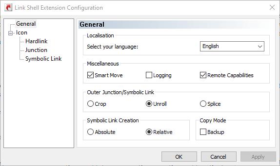 قم بإنشاء Symlink Windows 10 Lseconfig