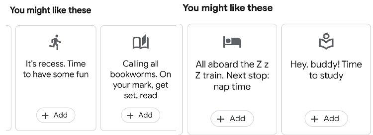 Google सहायक पारिवारिक बेल फ़ीचर बेल विकल्पों का उपयोग कैसे करें