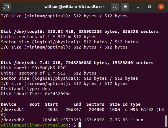 Install Arch Linux Rpi Check Partition Labels