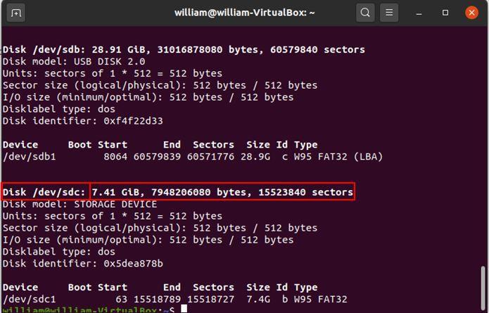 आर्क लिनक्स Rpi सूची विभाजन 1 को स्थापित करें