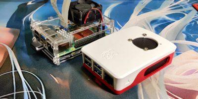Raspberry Pi 4 Desktop Cover