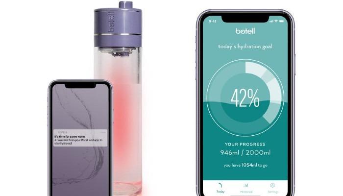زجاجة المياه الذكية Botell