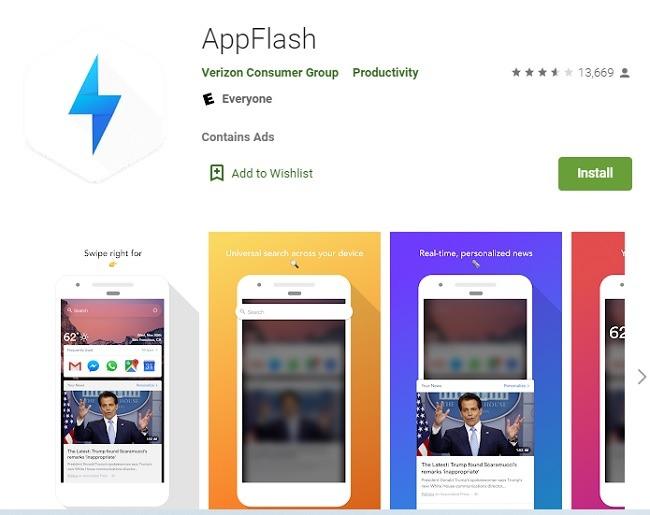 ما هو تطبيق Appflash على Android وهل تحتاجه وماذا