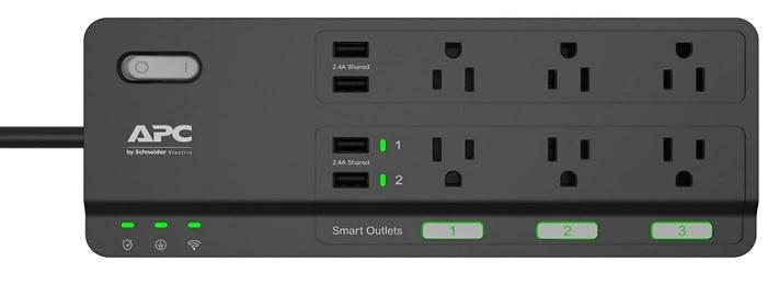 6 स्मार्ट पावर स्ट्रिप्स भी अधिक उपकरणों Apc को नियंत्रित करने के लिए