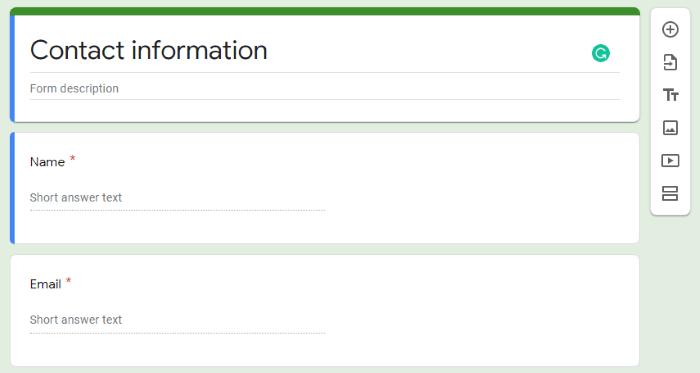 استطلاعات الرأي المجانية على Google Forms