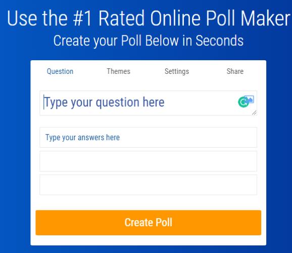 صانع تصويت مجاني