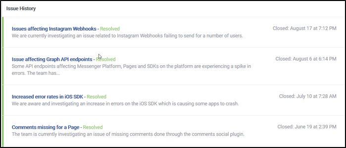Fbook Pics सर्वर स्थिति सूची