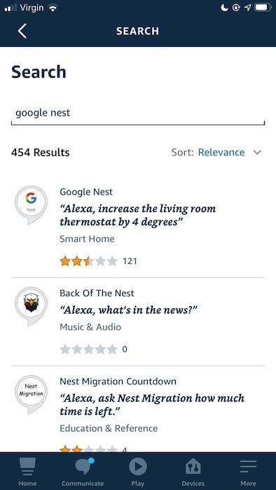 Google नेस्ट स्किल