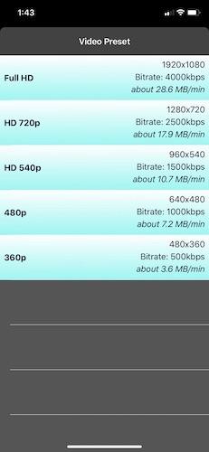 كيفية ضغط مقاطع الفيديو بتنسيق فيديو Iphone