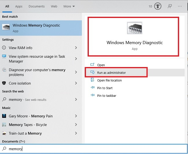 How To Use Windows Memory Diagnostic Tool To Find Memory Problems