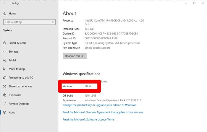 لوحة اللمس للكمبيوتر المحمول لا تعمل على إصدار Windows
