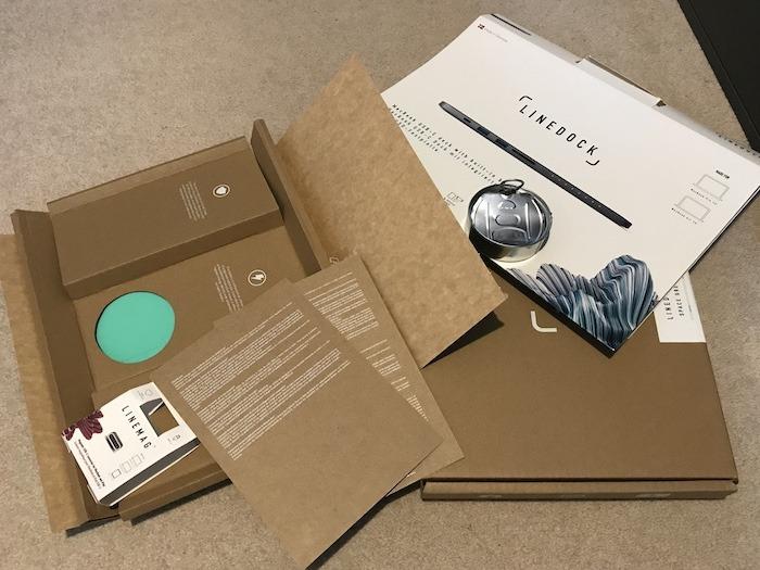 Linedock में बहुत सारी पैकेजिंग है - और यह है कि आप इसे सभी रीसायकल कर सकते हैं!