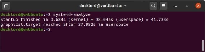 Manage Ubuntu Startup Systemd Analyze