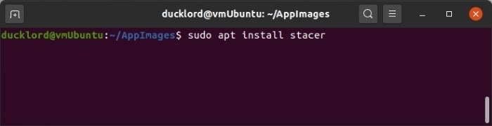 Optimize Linux With Stacer Apt Install