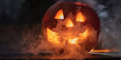 Smart Home Halloween Pumpkin