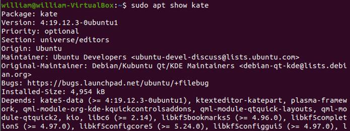 Ubuntu Apt Guru Show Information