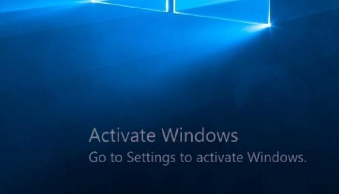 إزالة العلامة المائية لـ Windows