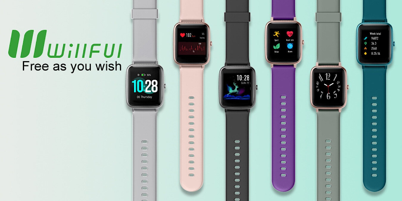 Get a Willful Smartwatch for Android and iOS for $32