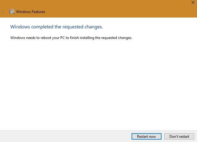 Windows Slowboot सुविधाएँ अनुरोध पूरा हुआ
