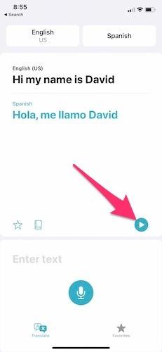 تطبيق الترجمة من Apple Ios14 Play Voice
