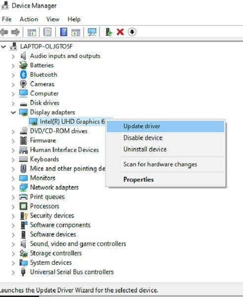 إصلاح مشاكل دقة الشاشة في Windows 10 Device Manager