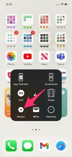 كيفية إيقاف تشغيل iPhone إعادة تشغيل iPhone