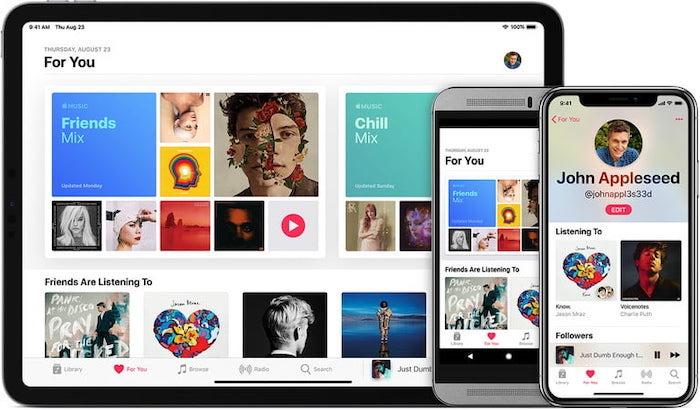 قم بإيقاف تشغيل مكتبة موسيقى Icloud Apple Music