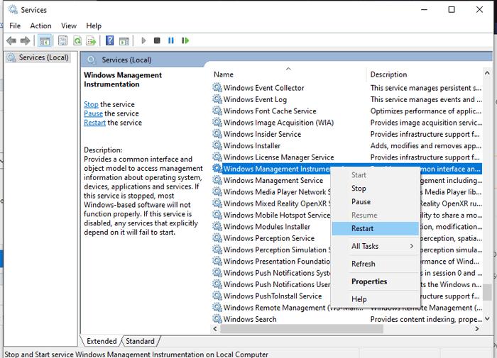 100 Cpu Usage Windows 10 Wmi Provider Host Service