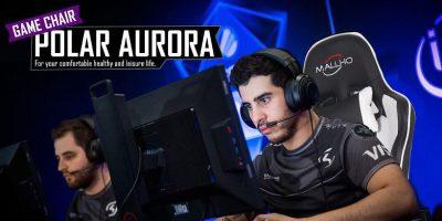 Deal Polar Aurora Gaming Chair Featured