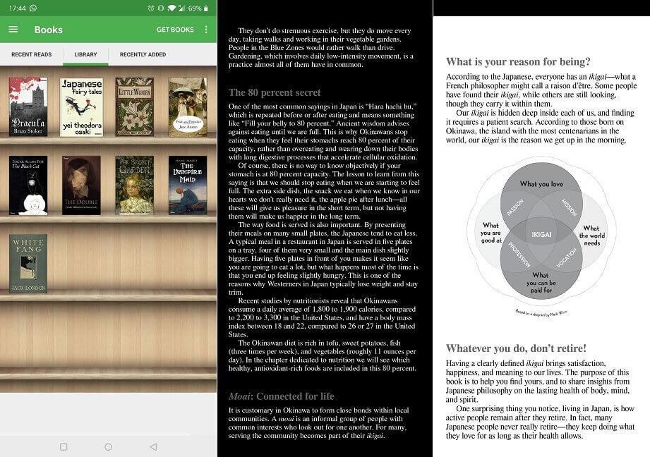 أفضل تطبيقات Ereader Aldiko Reader