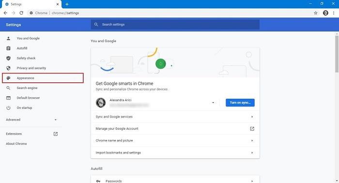 गूगल सर्च बैकग्राउंड अपीयरेंस क्रोम को कैसे बदलें